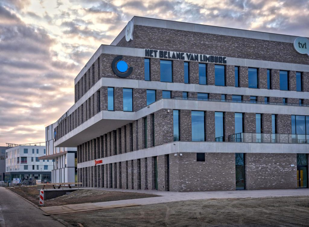new Mediahuis building in Hasselt